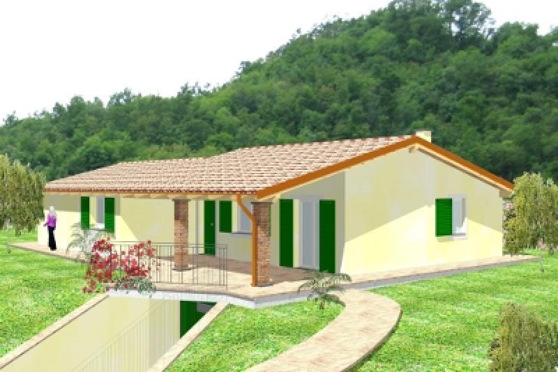 Top foto with progetti case su un piano for Opzioni esterne della casa