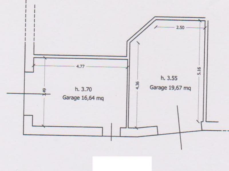 Annunci immobiliari gratuiti su garage box posti auto - Dimensioni garage doppio ...