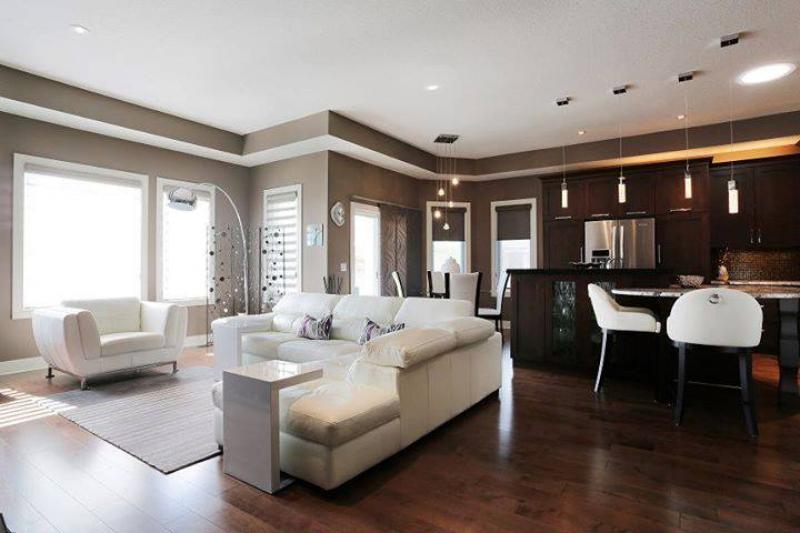 Antignano mare attico con terrazza abitabile - Open space cucina soggiorno classico ...