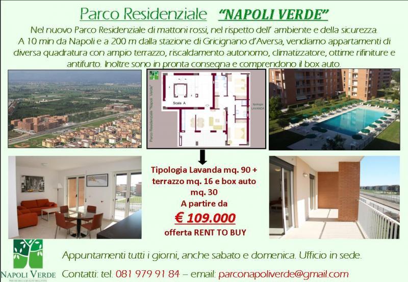 Vari appartamenti in parco residenziale napoli verde for Annunci immobiliari